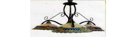 Lampadari In Ceramica Di Caltagirone.Prodotti In Ceramica Per L Illuminazione Swarovski Ceramiche Anna